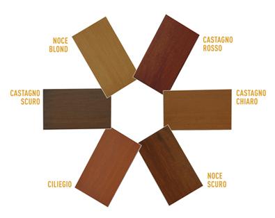 Colorazioni legno